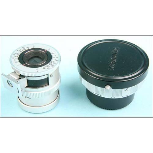 Visor y tubo de prolongacion Komura para Leica