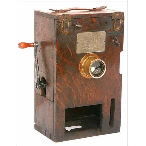 Proyector de cine de 35 mm Edison Kinetoscope. 1897.