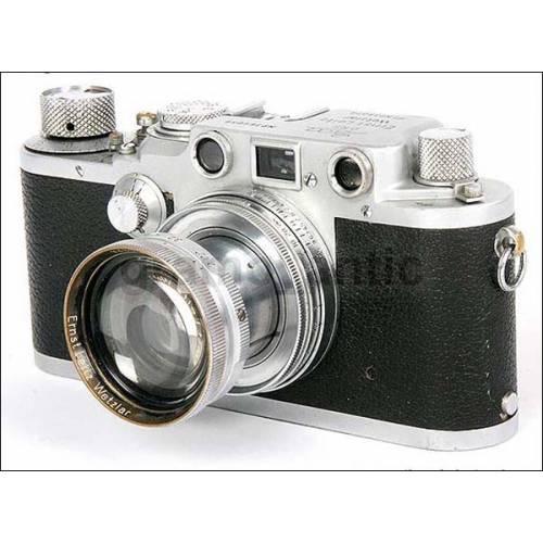 Leica IIIc de la  Luftwaffe Alemana. EXTREMADAMENTE RARA! 100% original!