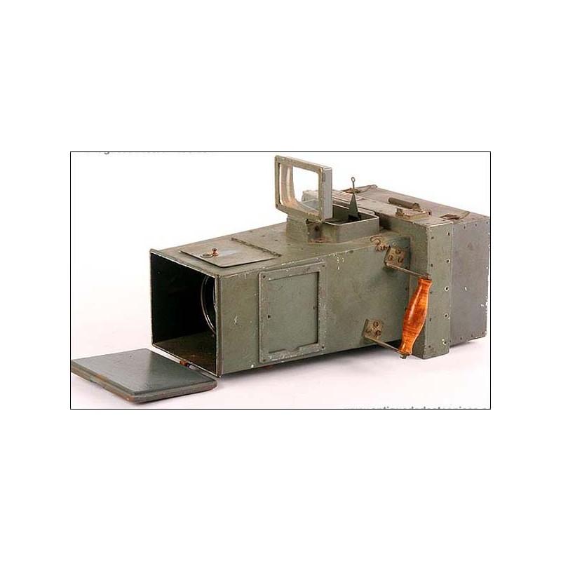 Enorme cámara militar para reconocimiento aéreo. Años 30