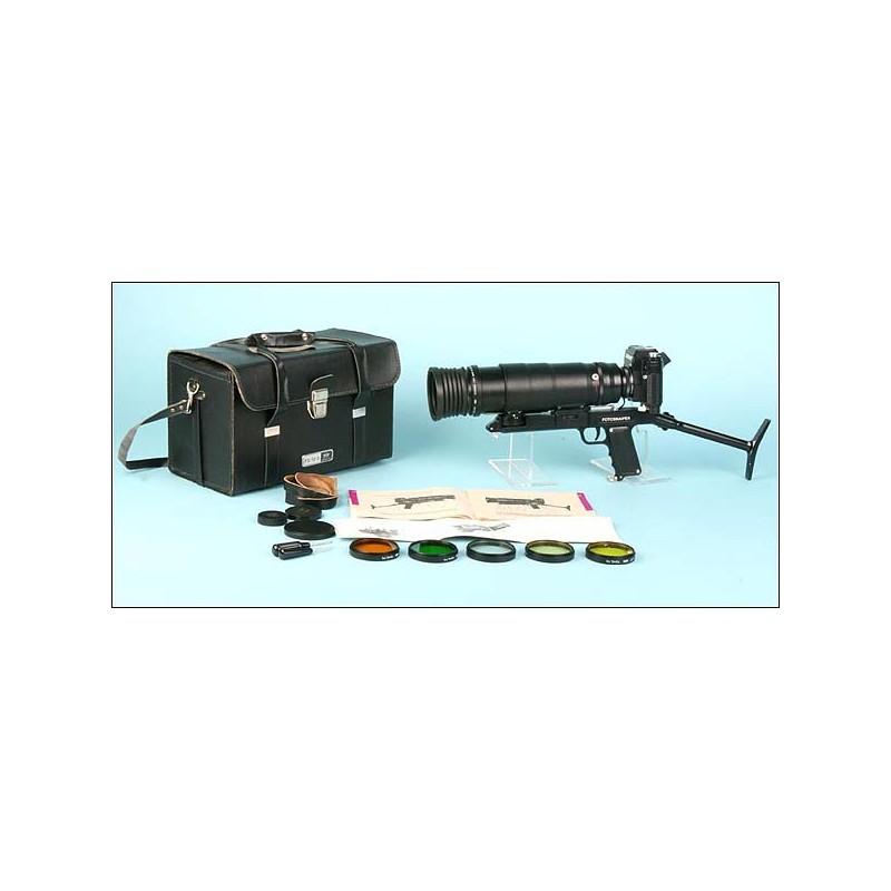 Cámara-fusil soviética Fotosniper. 1980