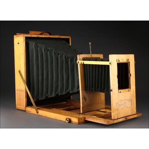 Ampliadora Inglesa Fabricada Circa 1900. Artículo de Coleccionista. En Perfecto Funcionamiento