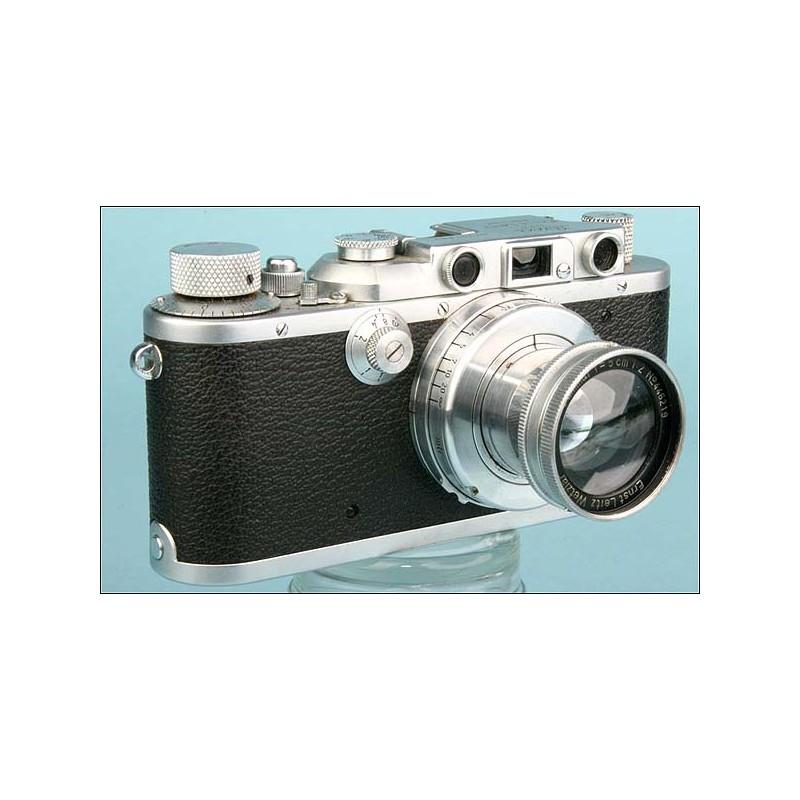 Magnífica Cámara Leica IIIa del Año 1938