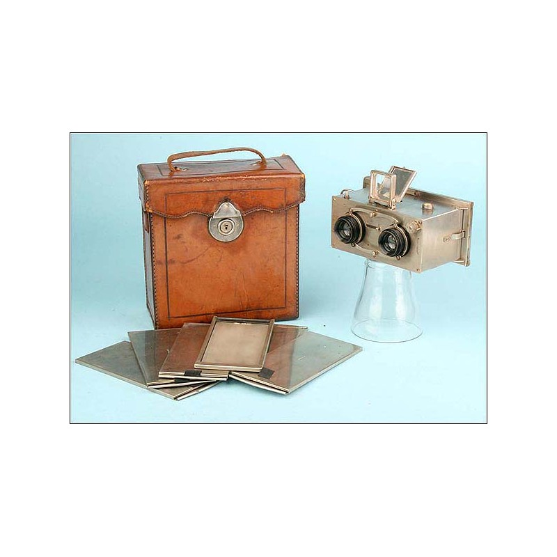 Soberbia Cámara Estereoscópica Ontoscope de 1928