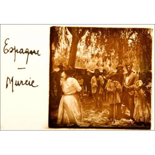 Rarísima Colección de 50 Fotografías de Escenas de España Sobre Cristales Estereoscópicos. 1910-1920