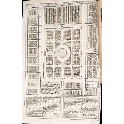 Jardinería, 1739. Francia. Instruction pour les jardins fruitiers et potagers. Dos Tomos