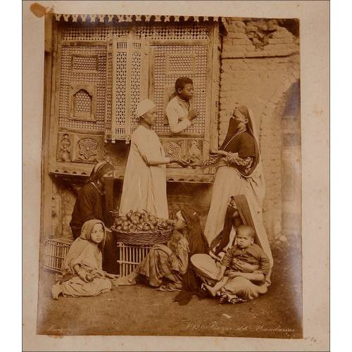 Conjunto con 18 Fotografías a la Albúmina en Álbum Original. Egipto, 1899