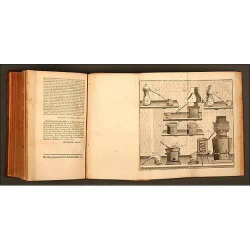 Libro de Física Experimental, de Sigaud de la Fond, París, Año 1775