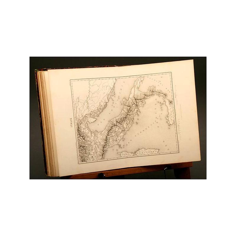 Histoire de la Revolution Française de Adolphe Thiers , Año 1827, Atlas