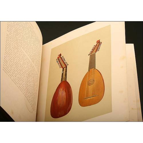Musical Instruments, Historic, Rare and Unique, A. J. Hipkins y William Gibb, Año 1888, Inglaterra