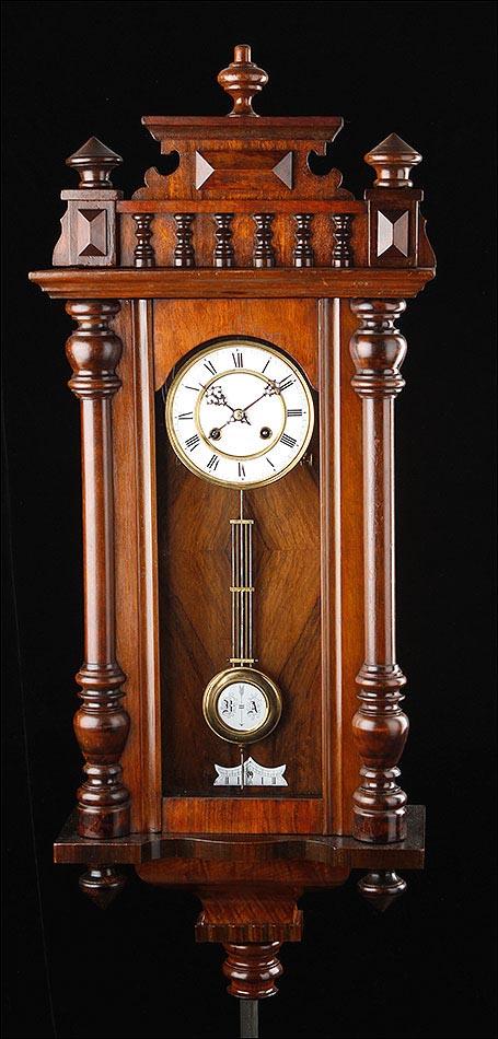 Magnífico Reloj de Pared Perfectamente Restaurado y