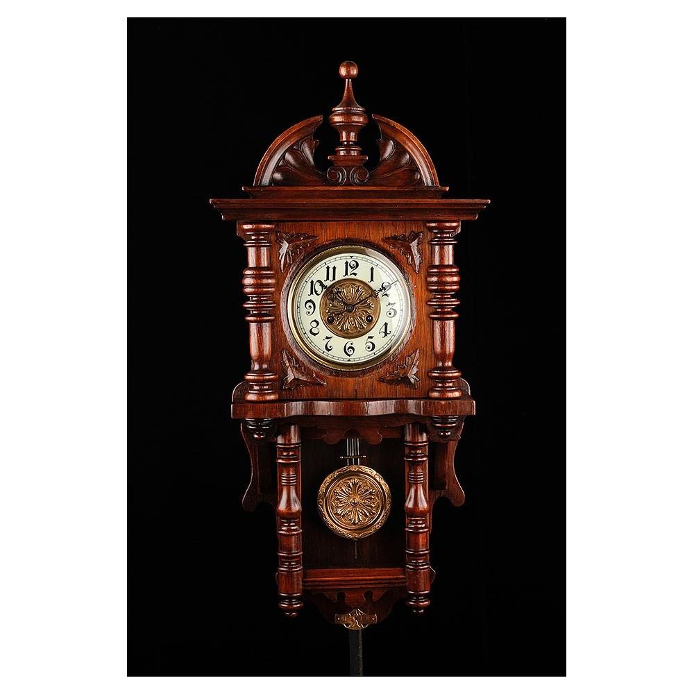 Hermoso reloj de pared kienzle restaurado y en - Relojes de pared clasicos ...