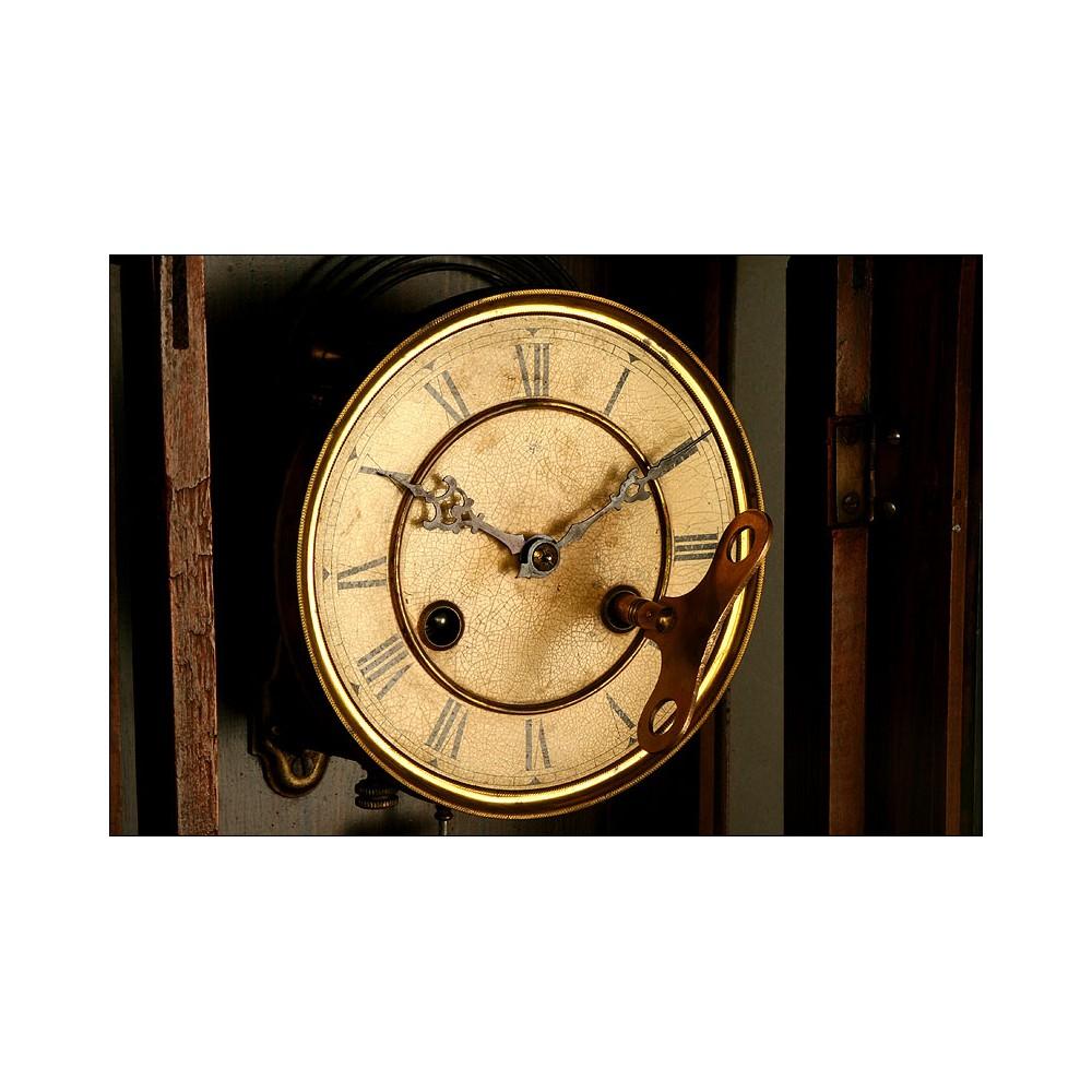 Original reloj de p ndulo junghans ca 1880 1890 - Reloj pared original ...