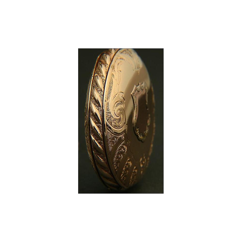 Reloj De Bolsillo Americano Waltham Saboneta 14k De 1896