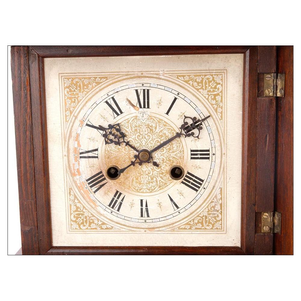 Reloj de sobremesa junghans siglo xix - Relojes de sobremesa antiguos ...