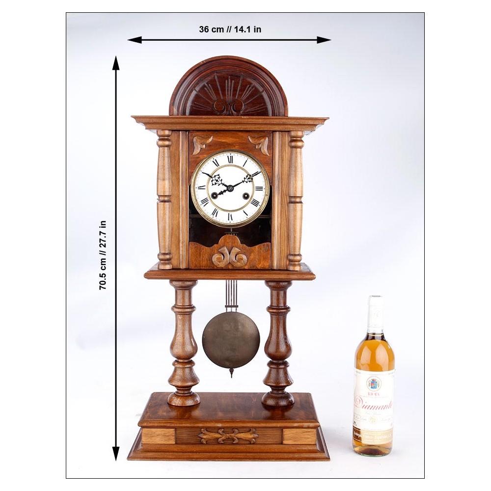 Antiguo reloj de sobremesa y pared en perfecto - Relojes de sobremesa antiguos ...