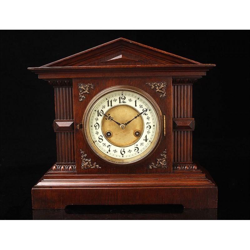 Clásico Reloj de Sobremesa Junghans de 1910-20. En Perfecto Funcionamiento