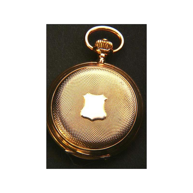 Reloj de bolsillo Longines oro macizo de 18K