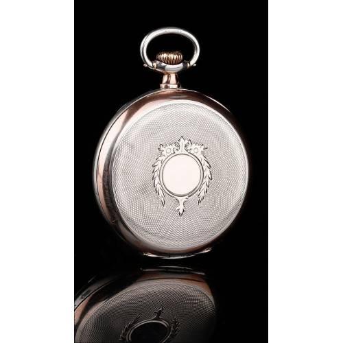 Antiguo Reloj de Bolsillo de Plata Omega en Muy Buenas Condiciones. Suiza, 1925