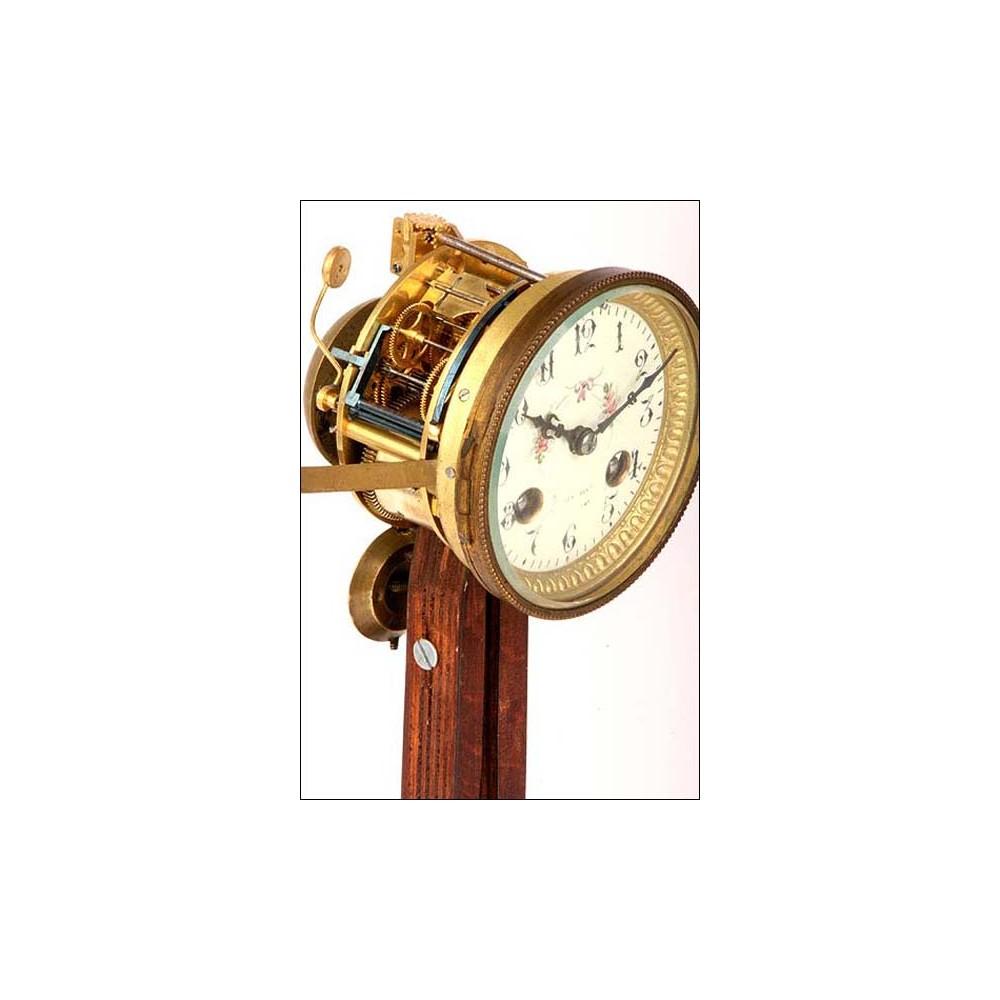 Reloj de sobremesa antiguo con guarnici n soner a s xix - Relojes de sobremesa antiguos ...