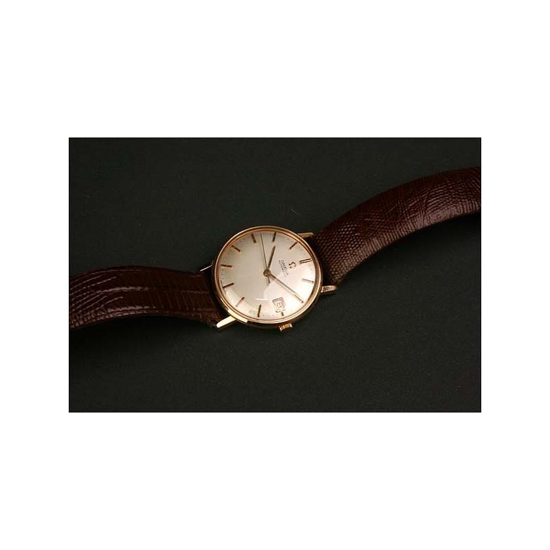 Reloj de pulsera Omega. 1947. Oro 18K automático