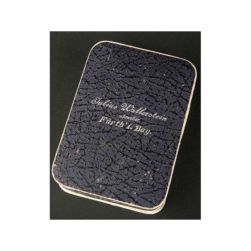 Reloj de bolsillo Omega en oro macizo. 51mm. 1900
