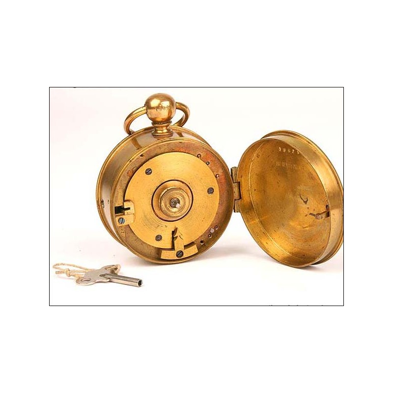 Raro reloj de sereno en funcionamiento. 1925
