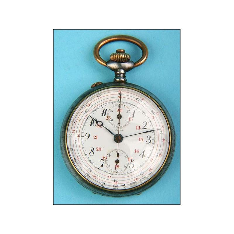 Reloj-cronómetro de artillero de la 1ª Guerra Mundial