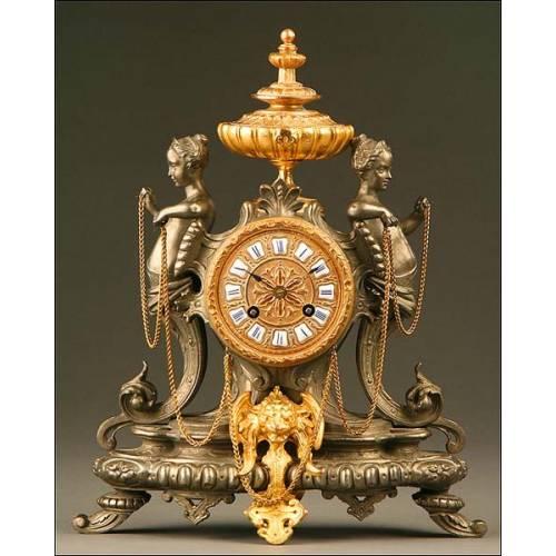 Reloj de Sobremesa, Francia, circa 1880