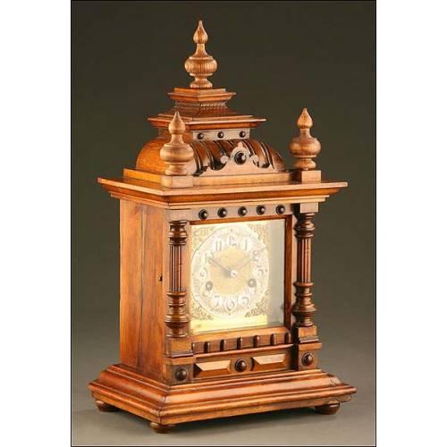 Reloj de Sobremesa Junghans, Dos Flechas, Alemania, Primer Tercio S. XX