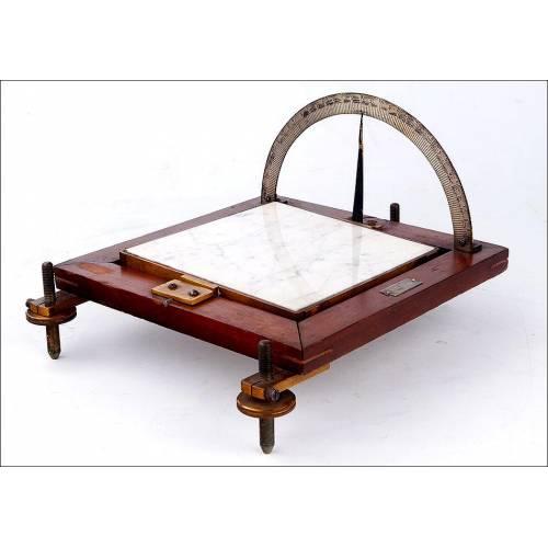 Raro Instrumento Docente para Demostraciones de Física. Viena, Circa 1900