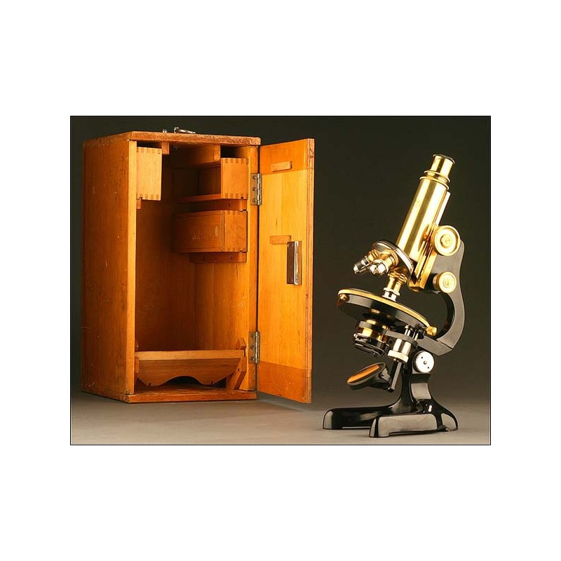 Microscopio Steindorff, Berlín, Año 1910-1920