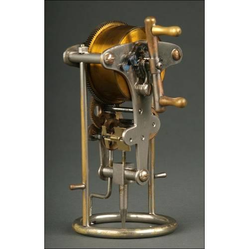 Aparato grabador mecánico marca Eureka de 1915. Probablemente empleado para hacer tatuajes