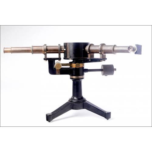 Importante Espectroscopio Antiguo Franz Schmidt & Haensch. Alemania, 1903