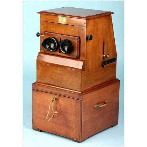 Estereoscopio Planox. Magnético. 1910