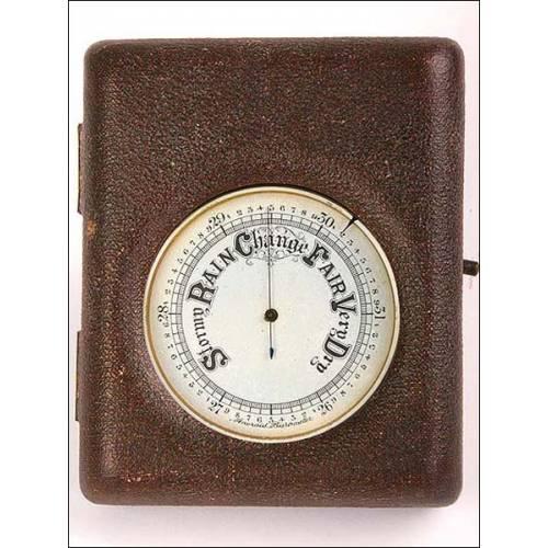 Barómetro aneroide Admiral Fitzroy's Weather Wisdom, 1927