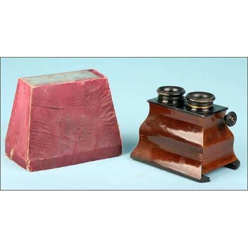 Estereoscopio manual. 1900-1920