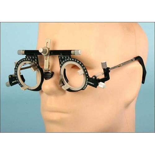 Gafas oftalmológicas regulables. Años 40