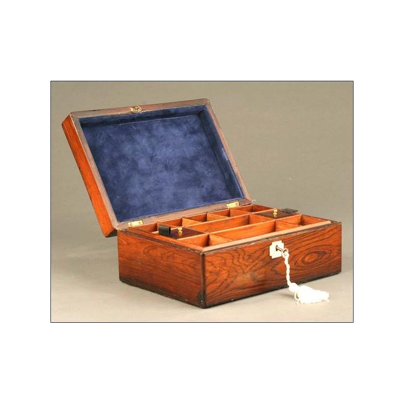 Joyero Época Victoriana, Inglaterra, Siglo XIX