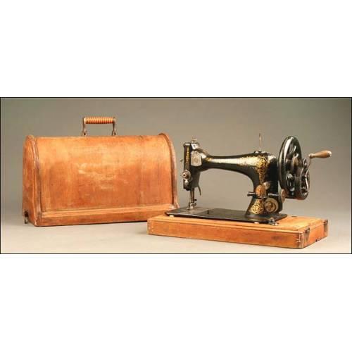 Máquina de Coser Singer, Estados Unidos, Año 1892