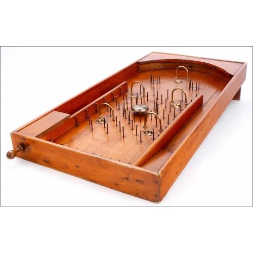 Fantástico Juego de Canicas Antiguo en Excelentes Condiciones. España, Años 40