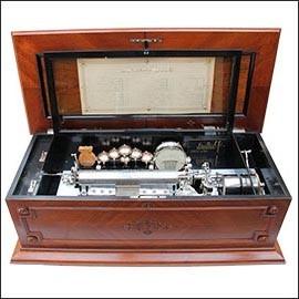 Cajas de Música Antiguas